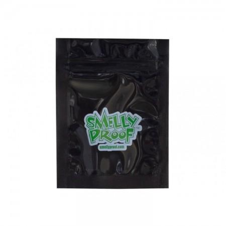 SmellyProof Bags - 2x3 XXS (Black)